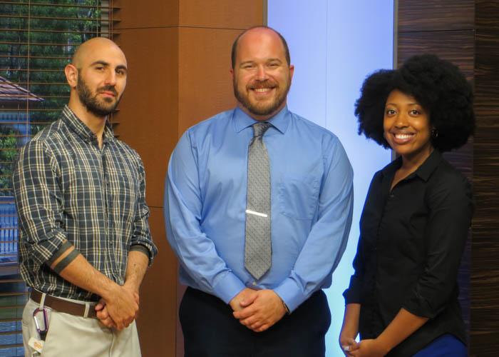The Riderwood TV Studio Staff