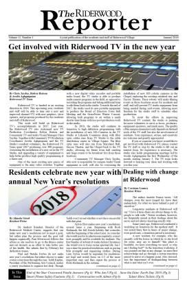 Riderwood Reporter January 2018 FINAL