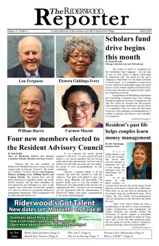 Riderwood Reporter March 2018 FINAL