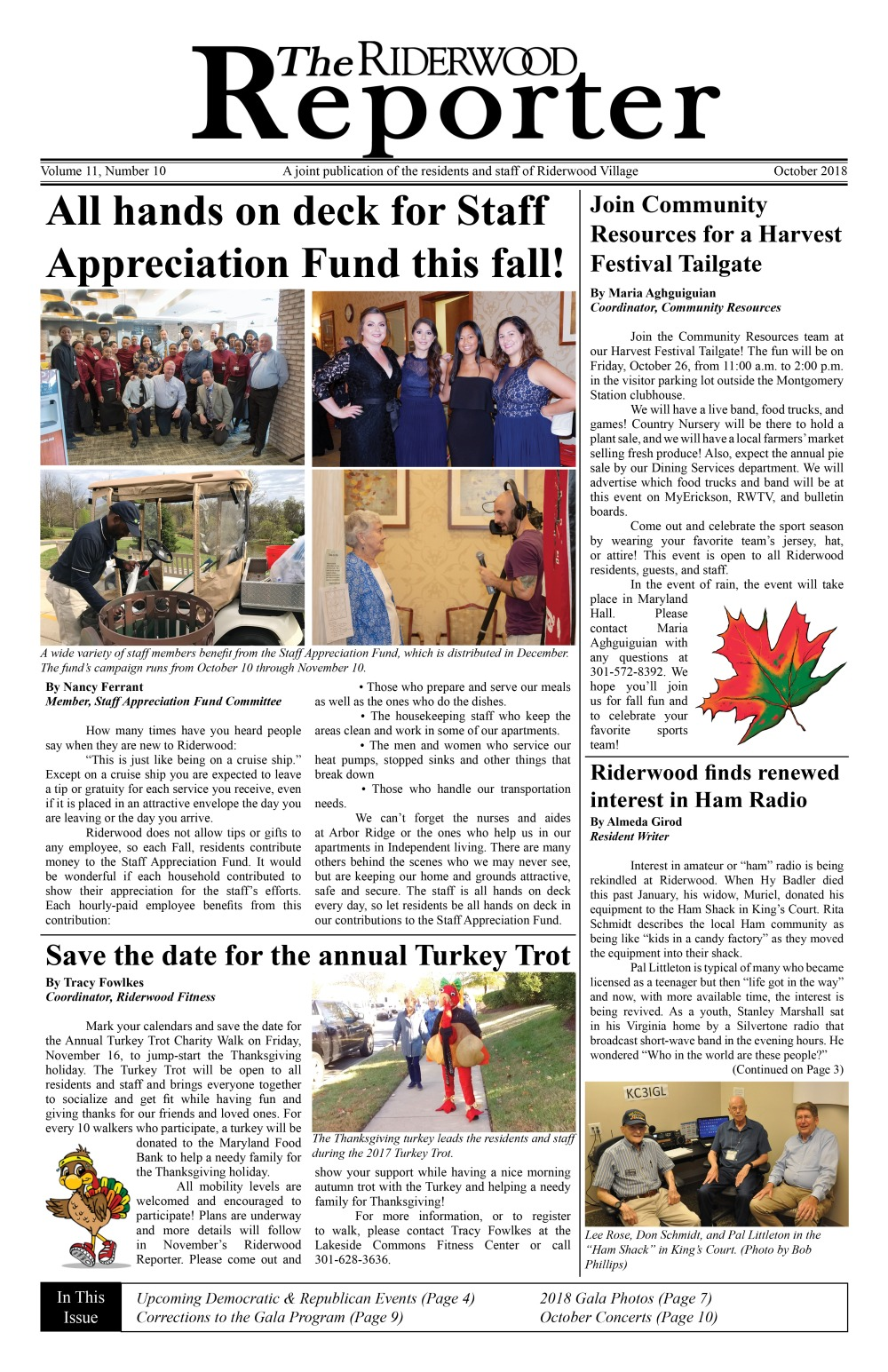 Riderwood Reporter October 2018 FINAL