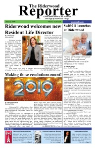 Riderwood Reporter January 2019 FINAL