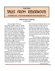 TALES FROM RIDERWOOD