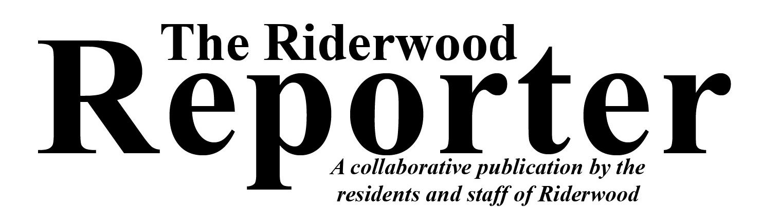 Riderwood Reporter Masthead Logo